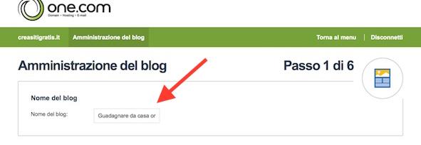 Crea blog 2
